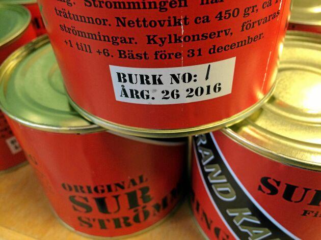 1 000 burkar av Grand Kallax Original till verkas varje år.