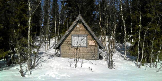"""Kronofogden efter kåtabränningen: """"Det var en nybyggd stuga med isolering"""""""