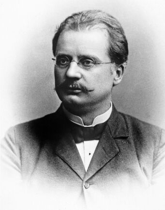 Uppfinnaren Gustaf de Laval, 1845-1913, var geniet som gjorde livet på bongården enklare med sin genialiska separator.