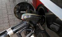 Dieselpriset över 17 kronor/litern