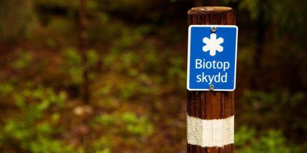 """""""Ersättningen ska motsvara värdet på biotopen"""""""