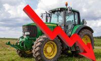 Minskat sug efter nya traktorer