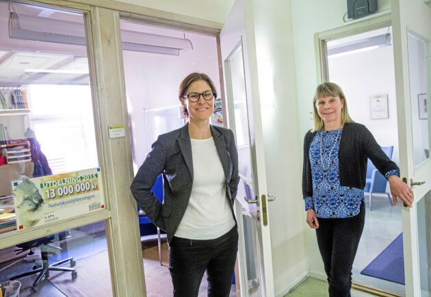 Johanna Sandahl och Karin Lexén.