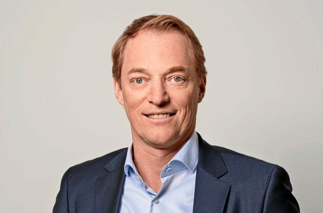 Anders Palm, ordförande för Sköldkörtelförbundet, lider själv av hypotyreos.