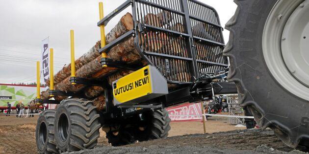 Tre nya vagnar från Kesla