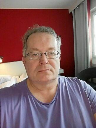 Jimmy Stenman arbetar för RFSL Piteå älvdal som ligger bakom Pite älv Pride.