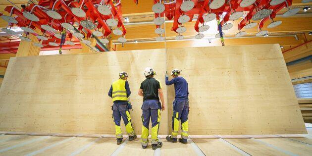 CLT-fabriken startar i Gruvön