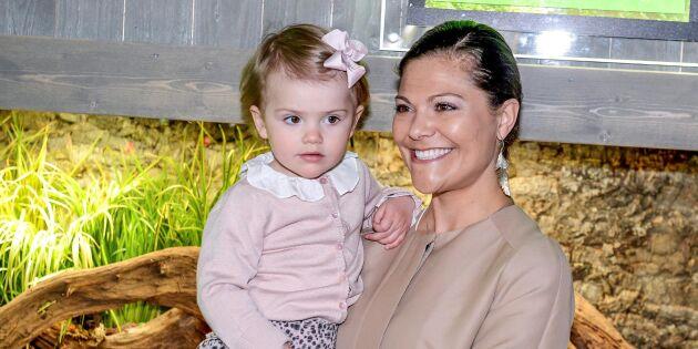 Kronprinsessans barndomsdröm: Att få jobba med djur och natur