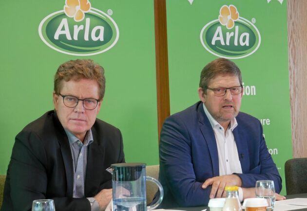 """""""Vi gick samman istället för att slåss"""" Arlas styrelseordförande Jan Toft Nørgaard om fusionen mellan Arla och danska MD Foods år 2000. Sedan dess har mejeriimporten från Danmark till Sverige ökat till rekordnivåer."""