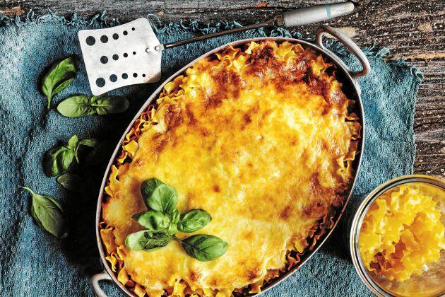 Snabbt och gott. Lasagnette är en perfekt rätt att frysa in, blir lika god som nylagad när den värms upp.
