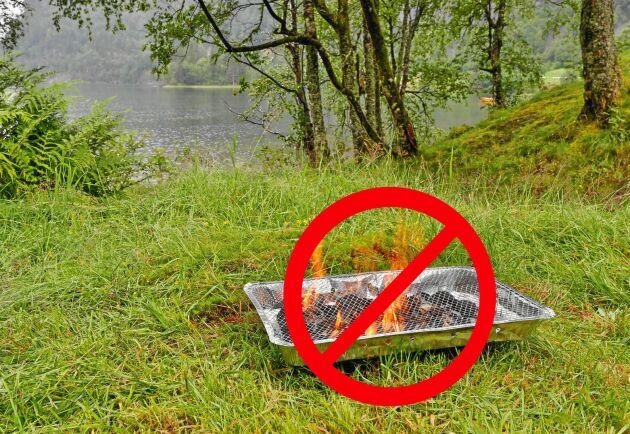 Stopp för engångsgrillar hos Ica. Senast nästa sommar ska de vara ersatta med miljövänligare alternativ.
