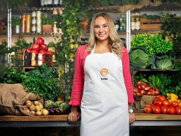 Emilia har en matblogg och ett Instagramkonto med fokus på mat.