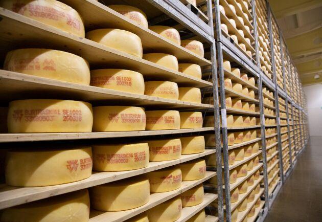 Statistiken över import och export visar att ost till skillnad från färskvaror är en marknad som växer och att det går att tjäna pengar på den.