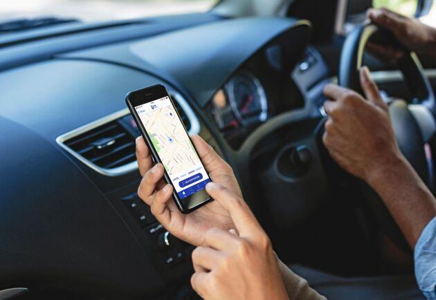 112-appen anger den position du befinner dig i om du råkar ut för en olycka. Det betyder att räddningstjänsten har koordinaterna för att hitta dig.
