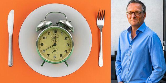Michael Mosley: Tidsbegränsa när du äter – om du vill gå ner i vikt