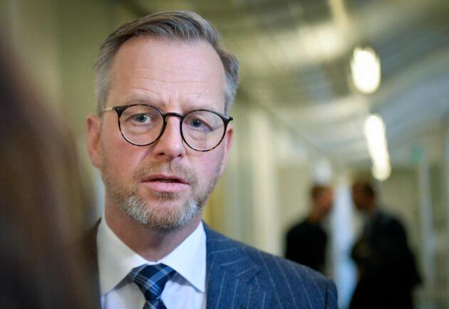 Inrikesminister Mikael Damberg (S) vill ge Tullen utökade befogenheter mot internationella stöldligor. Arkivbild.