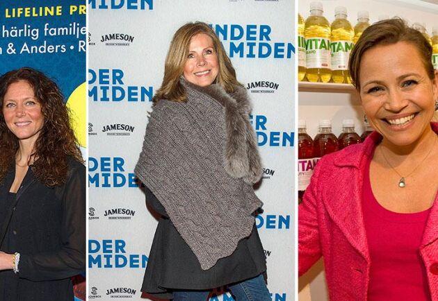 Annika Sjöberg, Åse Åsenlund och Ebba Blitz har alla varit hallåor på TV4.