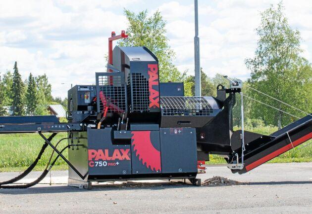 C750 är Palax senaste bidrag för professionella vedtillverkare.