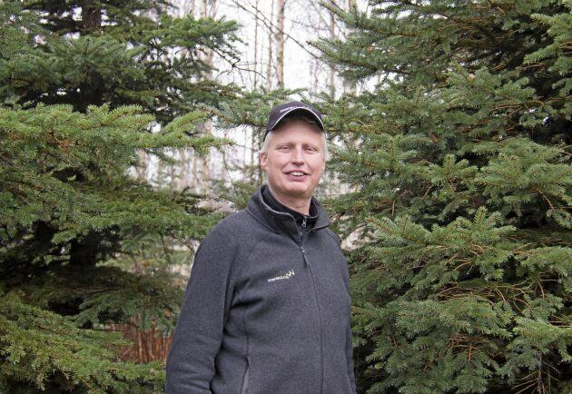 Tomas Johansson, VD och delägare i Mera Skog Värmland.