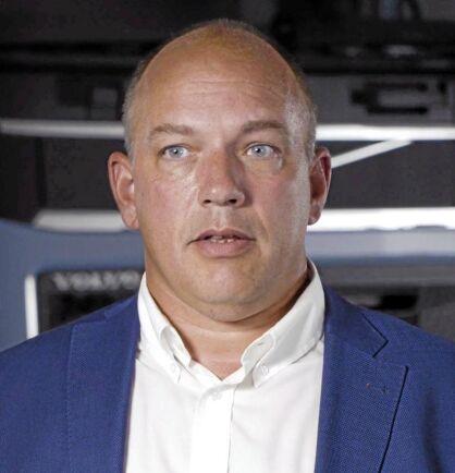 Tobias Bergman är projektledare för alternativa bränslen på Volvo Lastvagnar.