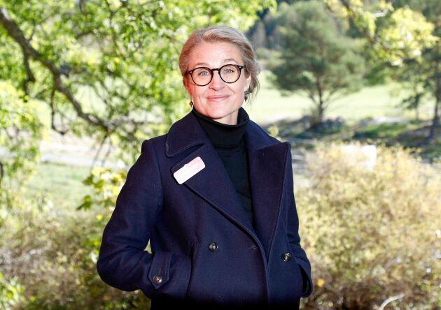 """Clara Tengbom är exekutiv producent för """"Bonde söker fru: Jorden runt""""."""