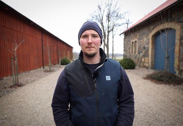 Tobias Arnfeldt på Länsförsäkringar Skåne.