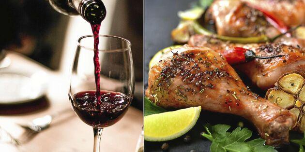 Vin till kyckling - här är bästa tipsen
