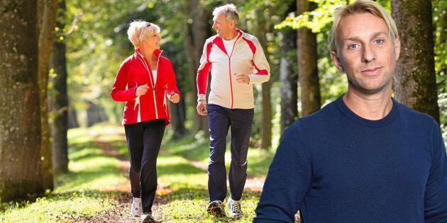Så kan motion bromsa hjärnans åldrande – Anders Hansen förklarar