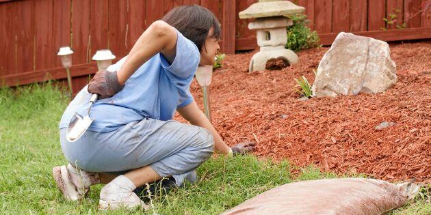 Så gräver du rätt – 6 tips från ergonomen inför trädgårdssäsongen