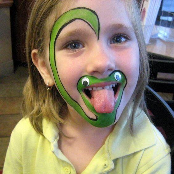 Gör roliga ansiktsmålningar till kalaset. Här är 15 roliga exempel.
