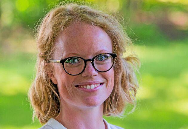 Sandra Lennartsson, Hvilan Utbildning, skulle önska att fler odlare kontaktade dem.
