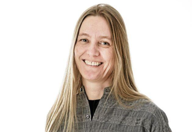 Karin Johansson, frilandskribent och redaktör.