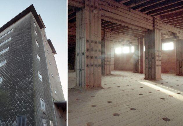 Skyskrapan i Åstorp började byggas 1917 som en av Sveriges första specialbyggnader för beredskapslagring. När alla lager avvecklades 2001 var spannmålslagret i Åstorp redan rivet sedan ett par år.