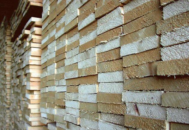 Det råder ett överutbud på sågade trävaror på den europeiska marknaden.