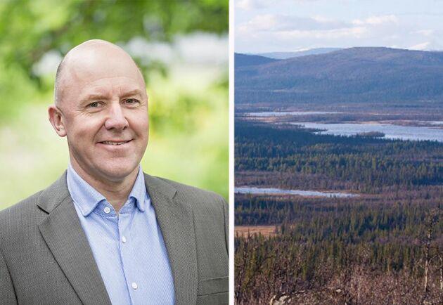Sven-Erik Hammar, ordförande i LRF Skogsägarna.