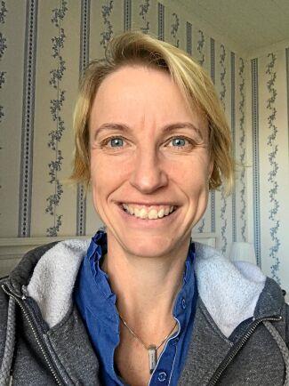 Sofie Alvarsson, rektor på Gamlebygymnasiet.