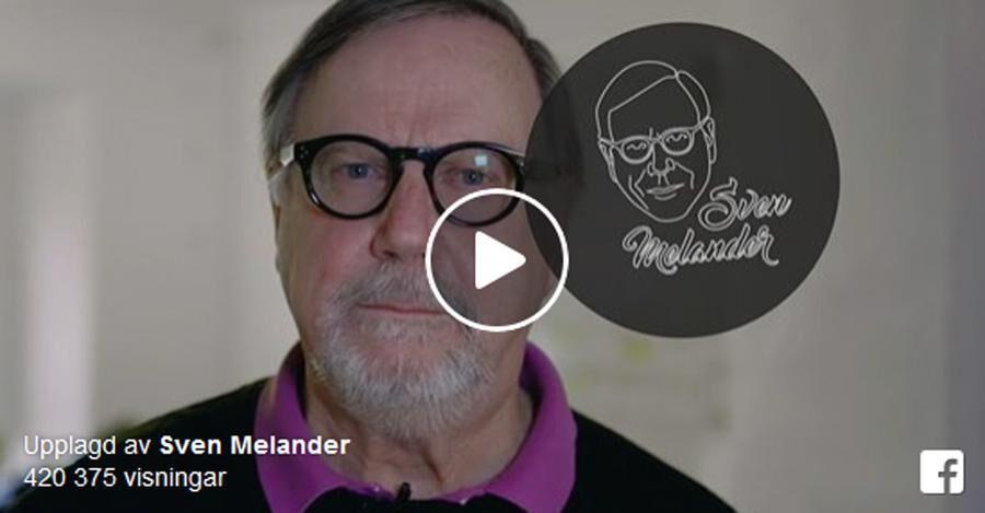 Sven Melander ger sig in i BB-debatten med en ny film.