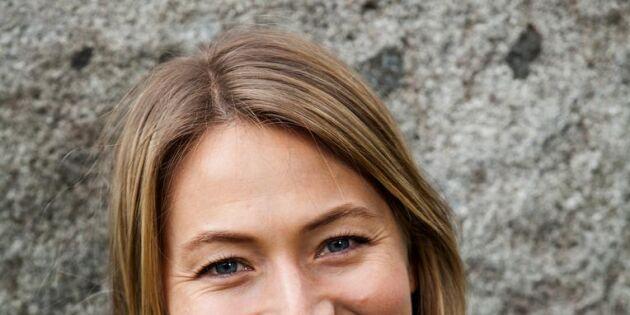 """Skådespelaren Frida Hallgren: """"Landsbygden är lite av en dröm"""""""