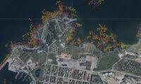 Svenska kustlinjens kartläggning är klar