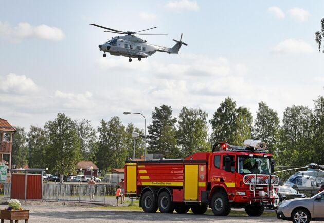 Brandbekämpning förra sommaren i Dalarna. Arkivbild.