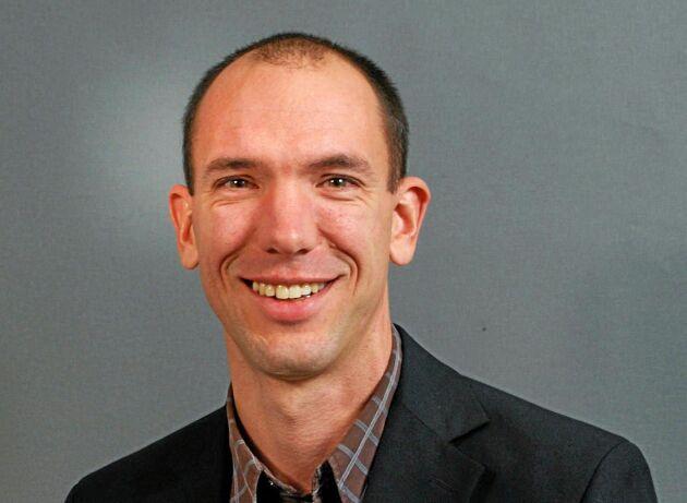 Joakim Kruse är vattenvårdsdirektör för region Bottenhavet.