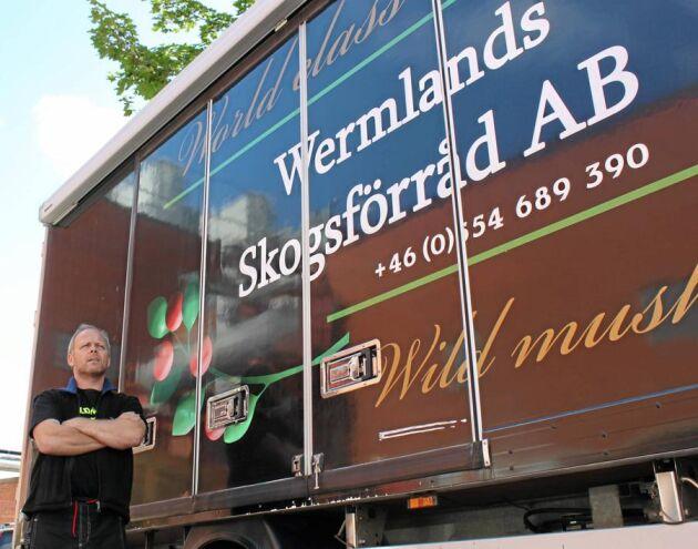 Ola Hultman på Wermlands Skogsförråd har stora expansionsplaner, och säger att svensk svamp är eftertraktad på kontinenten. Men för att få bra betalt gäller det att hålla hög kvalitet och ha kontroll på hela kedjan.