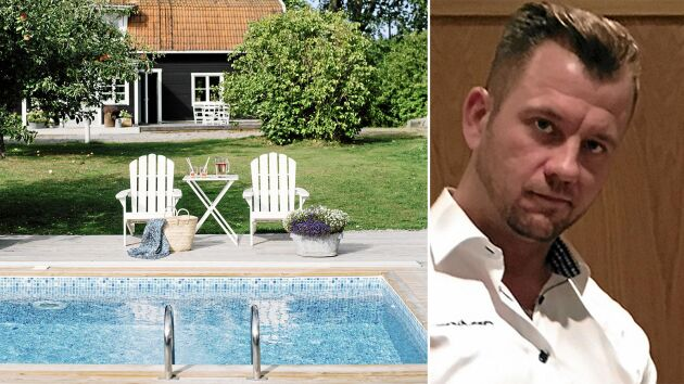 Jimmy Wanqvist jobbar på Poolkungen och vet hur du lyckad med poolbygget!
