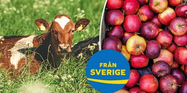6 goda skäl till att välja svenskt i mataffären