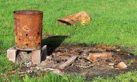 Lantbrukare får böter – eldade skräp