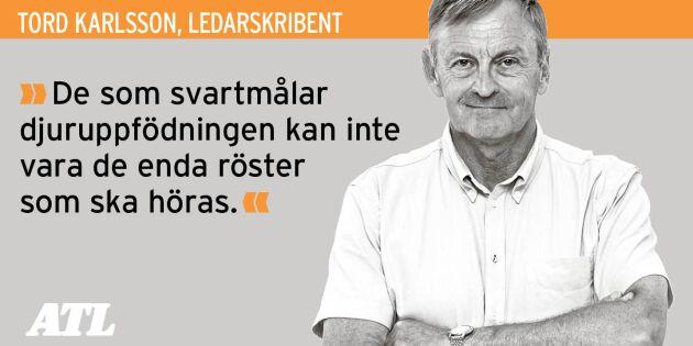 Våga se svenska mjölkgårdars positiva sidor