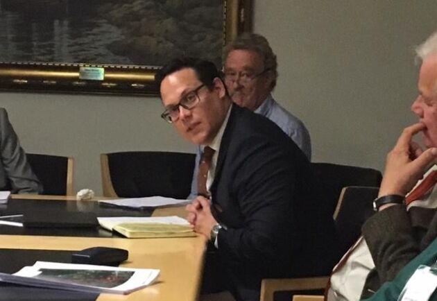 Anders Grahn, generalsekreterare för Sveriges Jordägareförbund, medger att avskjutningen av vildsvin bör öka.