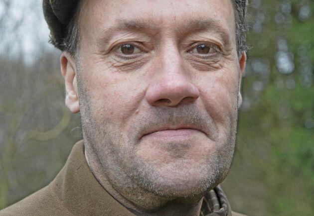 Håkan Lindgren är arbetsledare och har jobbat med viltet på godset i 38 år.