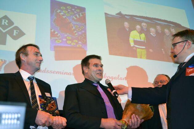 Vadsbo mjölk fick ta emot priset årets Ekoproducent. Priset är instiftat av LRF och förutom äran ingår även ett resebidrag till ekomässan Biofach i Tyskland.