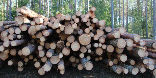 Mellanskog sänker virkespriserna